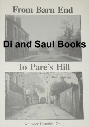 From Barn End to Pare's Hill, by Jeffrey Knight